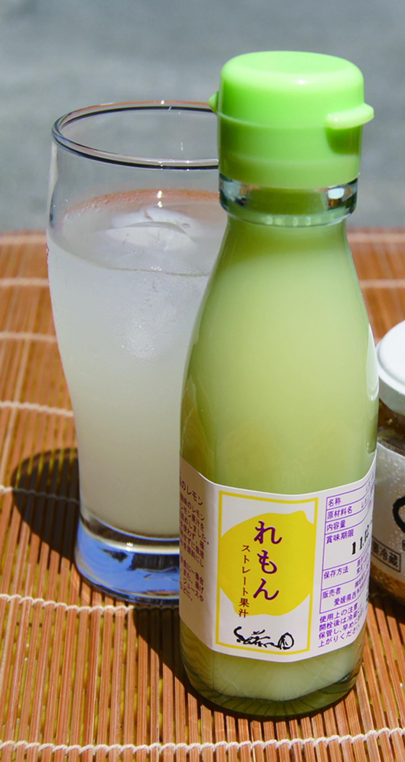 【無茶々園】れもんストレート果汁イメージ